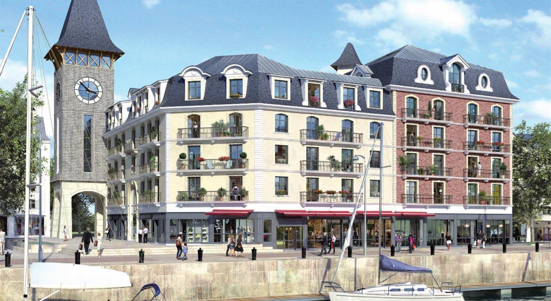 La renaissance de la Presqu'île de la Touques à Deauville